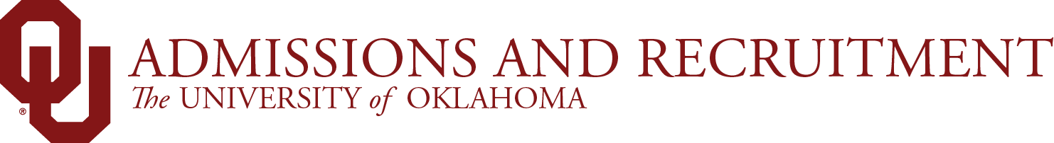 admissions and recruitment wordmark